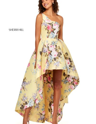sherrihill-52489-yellowprint-dress-8