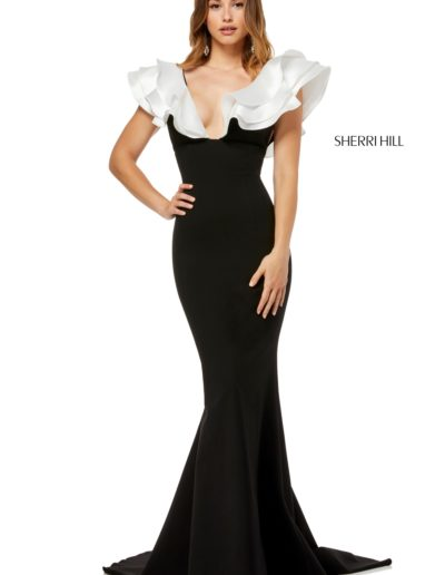 sherrihill-52550-blackivory-dress-2